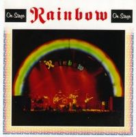 RAINBOW - On Stage CD album cover