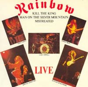Rainbow - Kill The King CD (album) cover