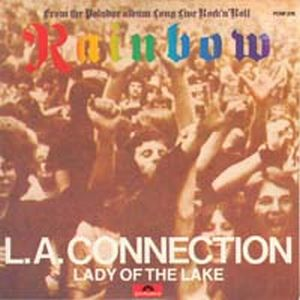 Rainbow - L. A. Connection CD (album) cover