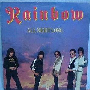 RAINBOW - All Night Long CD album cover