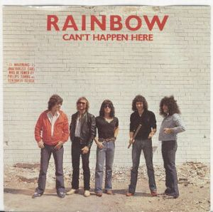 RAINBOW - Can't Happen Here CD album cover