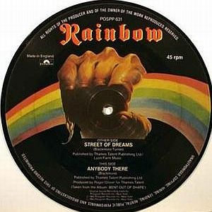 Rainbow - Street Of Dreams CD (album) cover
