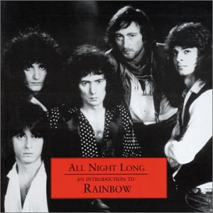 RAINBOW - All Night Long: An Introduction CD album cover