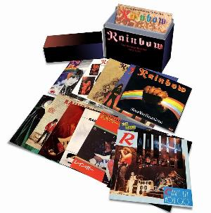 RAINBOW - The Singles Box Set 1975-1986 CD album cover
