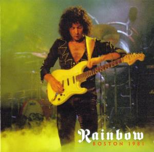 RAINBOW - Boston 1981 CD album cover
