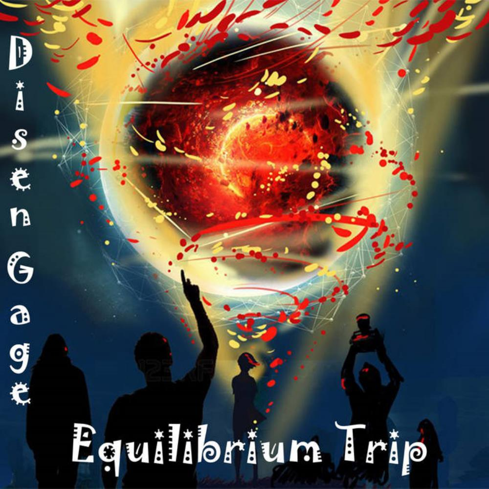 DISEN AGE - Equilibrium Trip CD album cover