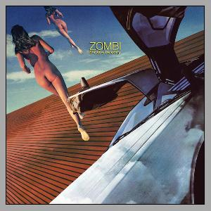 Zombi - Escape Velocity CD (album) cover
