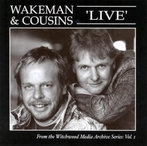 DAVE COUSINS - Wakeman And Cousins Live 1988 CD album cover