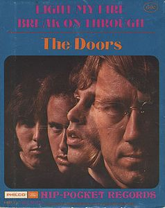 THE DOORS - Light My Fire 5'' Vinyl CD album cover
