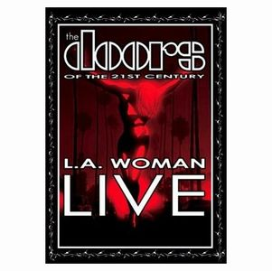 The Doors - L.a. Woman Live DVD (album) cover