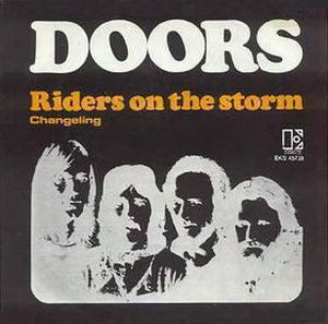 The Doors - Riders On The Storm CD (album) cover
