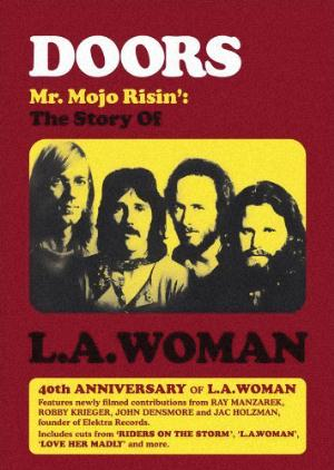 The Doors Mr. Mojo Risin': The Story Of L.a. Woman CD album cover