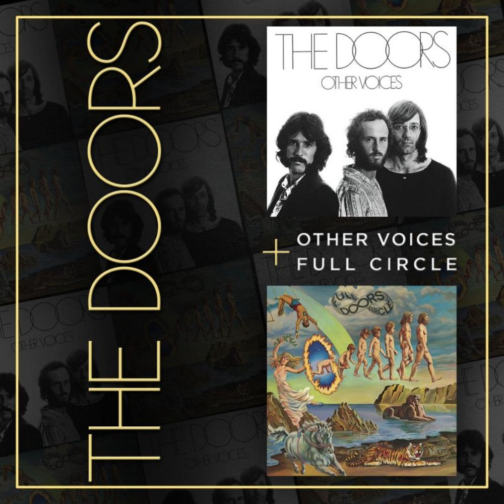 The Doors - Other Voices / Full Circle CD (album) cover