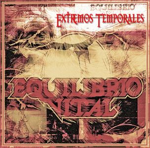 Equilibrio Vital - Extremos Temporales CD (album) cover