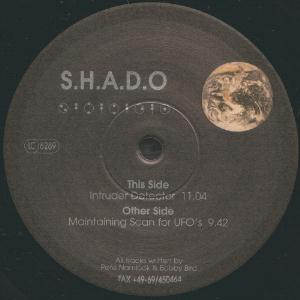 Pete Namlook - S.h.a.d.o. [ep] (with Higher Intelligence Agency) CD (album) cover