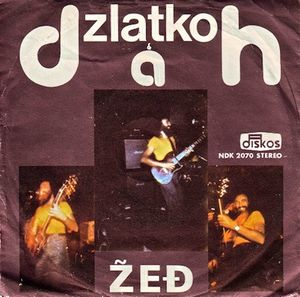 Dah - Zlatko & Dah: Zedj CD (album) cover