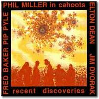 Phil Miller - Recent Discoveries CD (album) cover