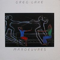Greg Lake - Manoeuvres CD (album) cover