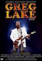 Greg Lake - Live DVD (album) cover