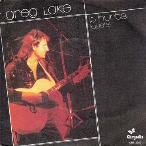 Greg Lake - It Hurts (duele) CD (album) cover