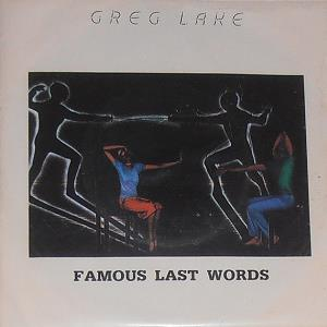 Greg Lake - Famous Last Words CD (album) cover