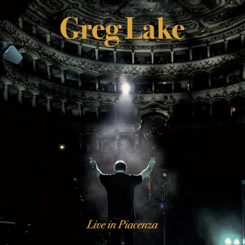 Greg Lake - Live In Piacenza CD (album) cover