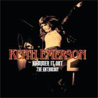 Keith Emerson - Hammer It Out - The Anthology CD (album) cover