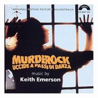 Keith Emerson - Murderock- Uccide A Passo Di Danza CD (album) cover