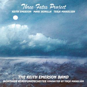 Keith Emerson - Three Fates Project (with Marc Bonilla & Terje Mikkelsen) CD (album) cover