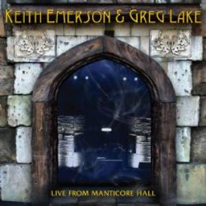 Keith Emerson - Live From Manticore Hall (emerson & Lake) CD (album) cover