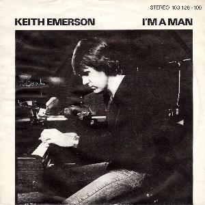 Keith Emerson - I'm A Man CD (album) cover