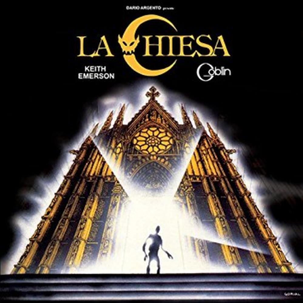 Keith Emerson - La Chiesa [aka: The Church] (ost) CD (album) cover