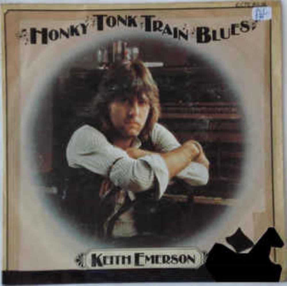 Keith Emerson - Honky Tonk Train Blues CD (album) cover