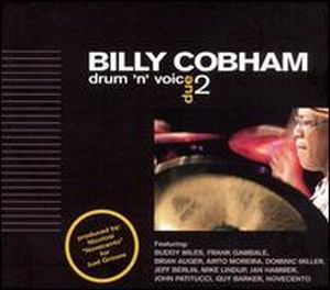 Billy Cobham - Drum N Voice 2 CD (album) cover