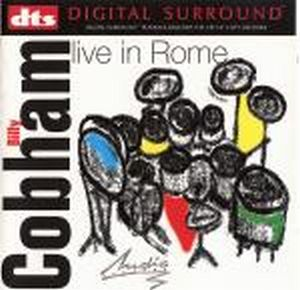 Billy Cobham - Live In Rome CD (album) cover