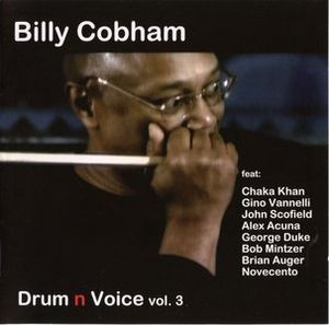 Billy Cobham - Drum N Voice Vol.3 CD (album) cover
