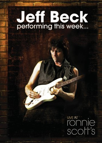 Jeff Beck Performing This Week...live At Ronnie Scott's CD album cover