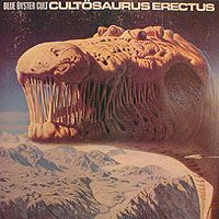 BLUE ÖYSTER CULT - Cultösaurus Erectus CD album cover