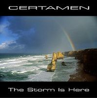 Adam Certamen Bownik - The Storm Is Here CD (album) cover