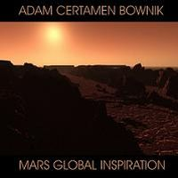 Adam Certamen Bownik - Mars Global Inspiration CD (album) cover