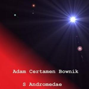 Adam Certamen Bownik S Andromedae CD album cover