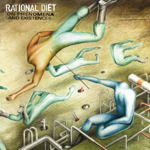 Rational Diet - On Phenomena And Existences CD (album) cover