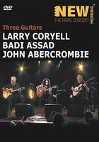 LARRY CORYELL - Three Guitars (with Badi Assad And John Abercrombie CD (album) cover