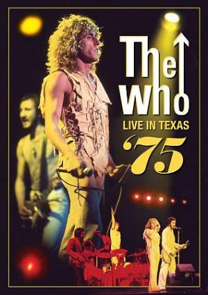 The Who Live In Texas '75 CD album cover