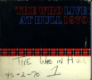 THE WHO - Live At Hull CD album cover