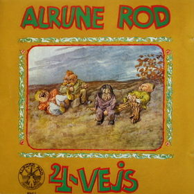 Alrune Rod - 4-Vejs CD (album) cover