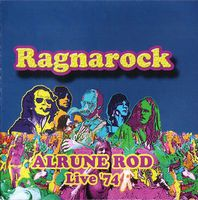 Alrune Rod - Ragnarock Live '74 CD (album) cover