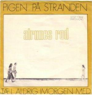 Alrune Rod - Pigen På Stranden CD (album) cover