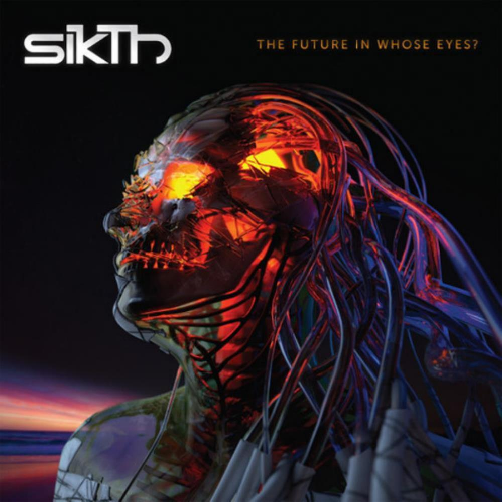 Sikth - The Future In Whose Eyes ? CD (album) cover