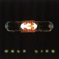 Three - Half Life CD (album) cover